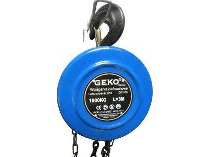 Kladkostroj řetězový 1000kg GEKO nářadí G01095