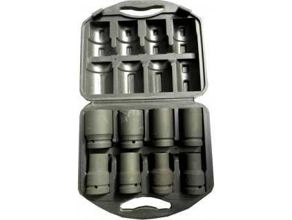 """Sada nástrčných hlavic 1"""", 8ks, 19-41mm GEKO nářadí G10074"""