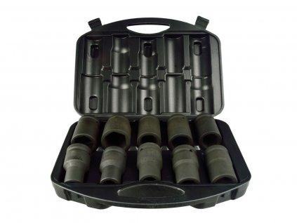 """Sada nástrčných hlavic 1"""", 10ks, 17-41mm GEKO nářadí G10075"""