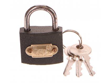 Zámek visací, 32mm, 3 klíče, GEKO