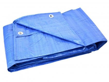 Plachta nepromokavá STANDARD modrá, 15x20m GEKO nářadí G01974