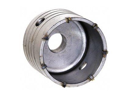 Příklepová vrtací korunka do betonu, průměr 75mm se stopkou 110mm SDS+ MAGG 27075110