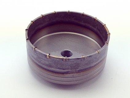 Příklepová vrtací korunka do betonu, průměr 150mm se stopkou 400mm SDS MAX