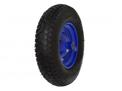 Gumové kolo do vozíku modré, 390x85 mm GEKO nářadí G71019