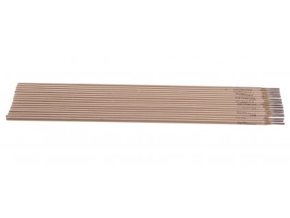 Elektrody svařovací, 2,5x300 mm, svařovací proud 60-90A, růžové GEKO nářadí G74200