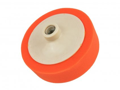 Houba leštící oranžová, 150x45 mm, M14, GEKO