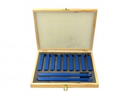 Nože soustružnické 11ks, 16x16 mm GEKO nářadí G01243
