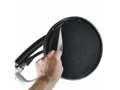 Brusné kotoučové síťky na sádru, hrubost 100  / průměr 225 mm, balení 5 ks DEDRA DED7749S2