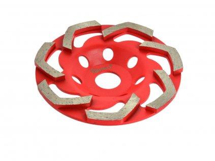Diamantová kotouč na broušení betonu RED 125mmx5mm GEKO nářadí G00374