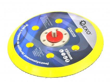 Kotouč na suchý zip 150mm pro pneumatické brusky GEKO nářadí G00320