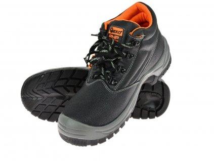 Ochranné pracovní boty kotníkové model č.2 vel.45 GEKO