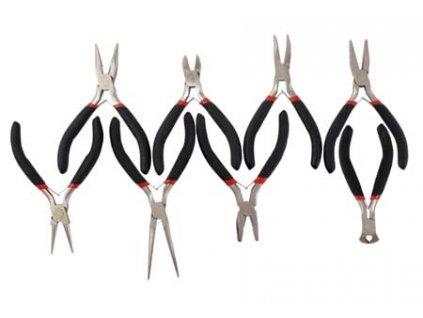 Praktická sada mini kleští s různými čelistmi (8ks/100 mm) MAGG 3007100
