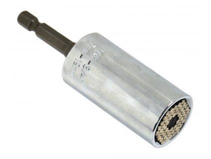 """Nástavec univerzální 7-19 mm délka 52 mm + adaptér 3/8"""" 50 mm GEKO nářadí G15020"""