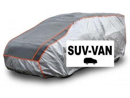 Ochranná plachta na auto proti kroupám SUV-VAN 530×205×160cm