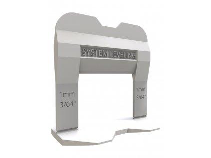 Spony 1mm (100ks) System Leveling D.O.O. SL1111