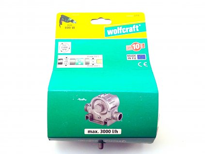 Čerpadlo na vodu kovové 3000l/h WOLFCRAFT 2200000