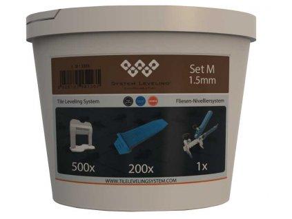 Aplikační SET 500/200/1 - 1,5mm System Leveling D.O.O. SL1555