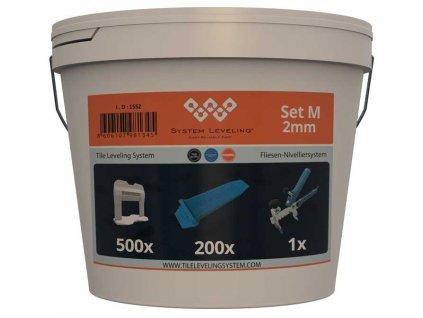 System Leveling - aplikační SET 500/200/1 - 2mm