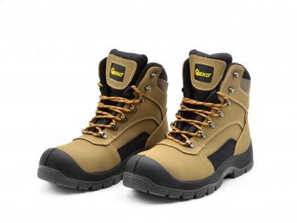 Ochranné pracovní boty velikost 39 GEKO