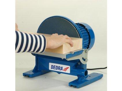Brusný papírový kotouč se suchým zipem o průmeru 250 mm P 80 DEDRA DED781621