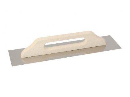 Hladítko nerezové 380x130 mm hladké - EKO LINE KUBALA 2623
