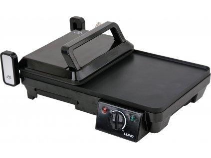 Kontaktní grill 2000W 2v1 LUND TO-67455
