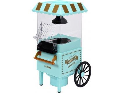 Stroj na popcorn - vozík 1200W LUND TO-68260