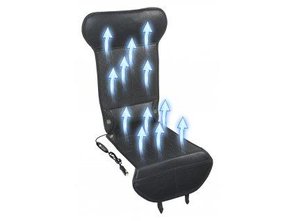 Potah sedadla s ventilací 12V STRICK AIR black Compass 04082