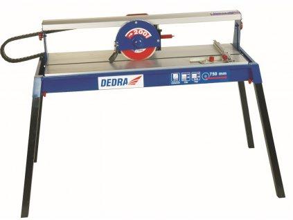 Elektrická řezačka na dlažbu a obklady 800 W,kotouč 200 x 25,4 mm - řez 750 mm
