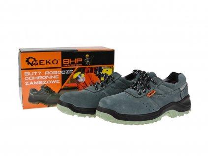 Ochranné pracovní boty vel. 40 GEKO