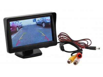 LCD display se stojánkem Compass 33397