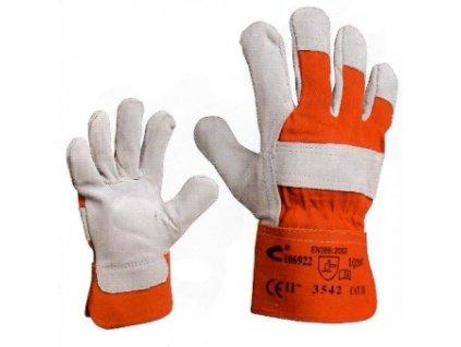 EIDER - pracovní rukavice hovězí štípenka vel. 11 CERVA GROUP a. s. EIDER11