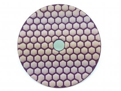 Leštící kotouč tl.0400 diamant,prům.125 mm,práce nasucho