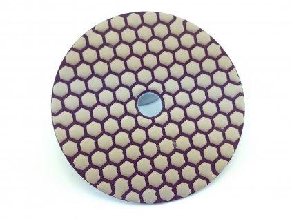 Leštící kotouč tl.1500 diamant,prům.125 mm,práce nasucho DEDRA H12H1500