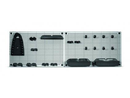 Závěsná stěna na nářadí - rozměry: 2x 50x31x7cm