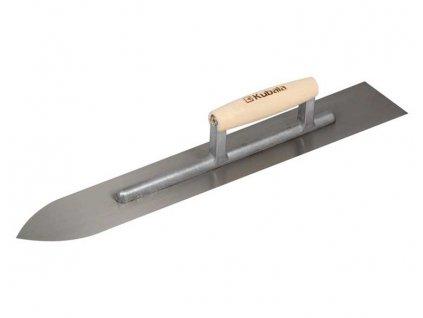 Hladítko kovové ostré 90x600mm, rukojeť dřevěná KUBALA 0422