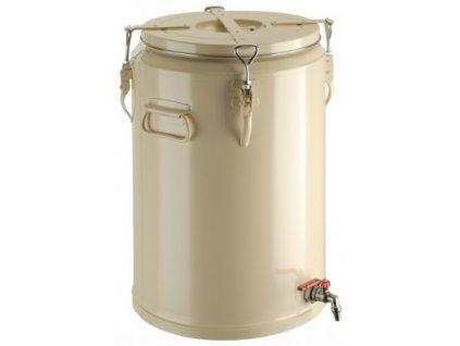 MARS - nádoba na nápoje s výpustným kohoutem 40l - béžová