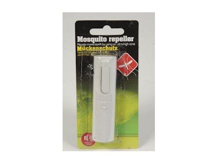 Ultrazvukový odpuzovač komárů na baterie - klispna na opasek