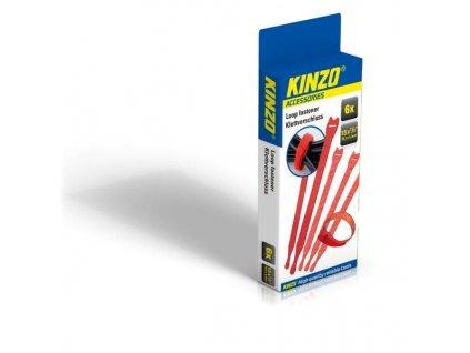 Sada rychlostahovacích pásek Kinzo 6ks 38,1x1,27 cm