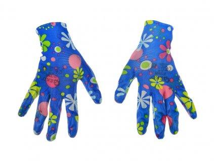 Dámské zahradní pracovní rukavice, velikost 8 GEKO nářadí G73505