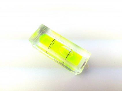 Libela do vodováhy plastová 40x15x15 mm