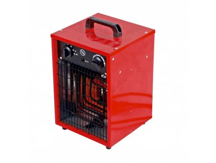 Elektrické topidlo 3300 W  + termostat a vestavěný ventilátor