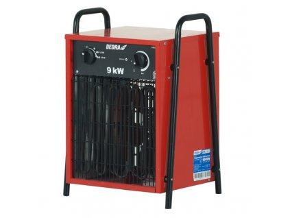 Elektrické topidlo 9 kW 400 V  + vestavěný ventilátor
