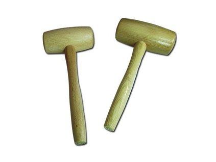 Dřevěná palička 350g - jasan