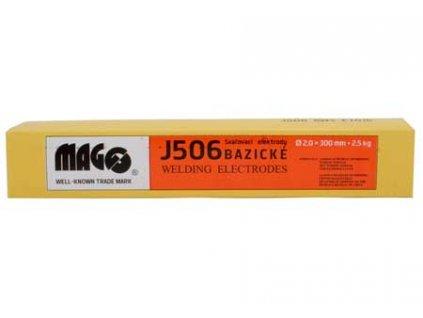 Svařovací bazické elektrody J506/2,0x300/2,5kg MAGG 53301K