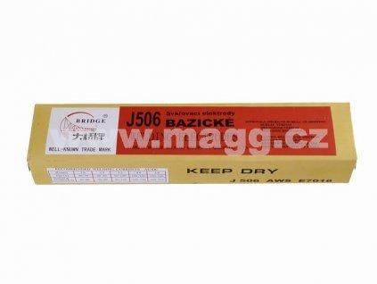 Svařovací bazické elektrody J506/2,5x300/2,5kg MAGG 53302K