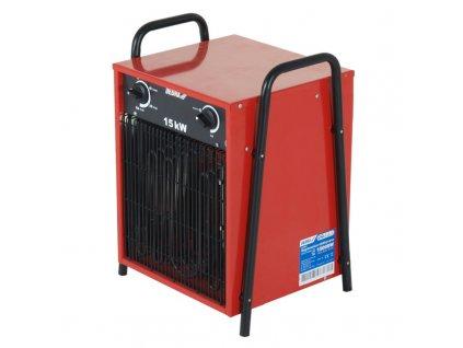 Elektrické topidlo 15 kW 400 V DEDRA DED9925  + vestavěný ventilátor
