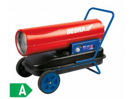 Naftové topidlo 20 kW s regulací teploty DEDRA DED9950  + vestavěný ventilátor a elektronická regulace teploty