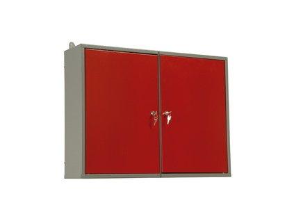 Závěsná skříň na nářadí do dílny, dvoudílná 80x60x19 cm MARS Svratka 5809
