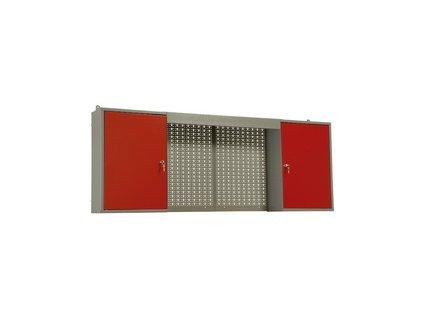 Závěsná skříň na nářadí do dílny, kombi - 160x60x19 cm MARS Svratka 5811